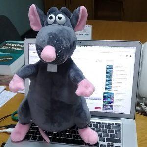 Мягкая игрушка Крыс
