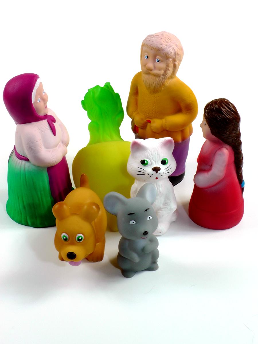 Игрушка из ПВХ - Сказка репка из 7 предметов